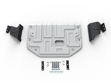 Защита картера+КПП 2.2d; полный/передний/задний привод