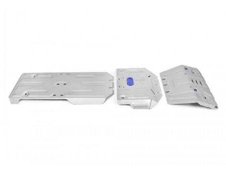 Комплект защит радиатор+картер+КПП+РК 2.7; 2.8d; 3.0d; 4.0