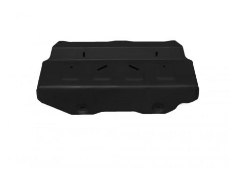 Защита радиатора+картера 2.8d; полный привод; часть 1; только со штатным бампером