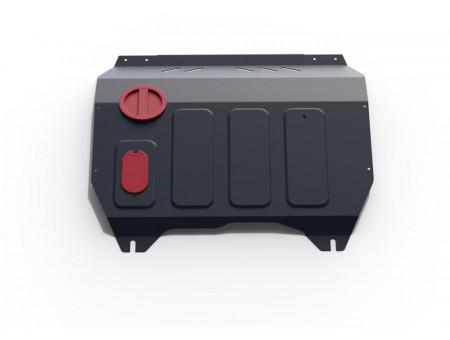 Защита топливного бака 1.6 АКПП; передний привод
