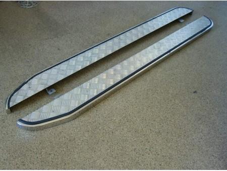 Пороги с накладкой лист d20х40