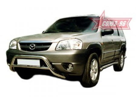 "Пороги труба d 60 (компл. 2 шт) ""Ford Maverick"" 2001-,""Mazda Tribute"" 2001-,"